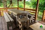 6 žmonėms rąstinis namas su pirtimi - sodyba Pušų giraitė - 11