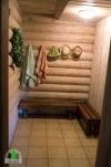 6-8 žmonėms rąstinis namas su pirtimi - sodyba Pušų giraitė - 12