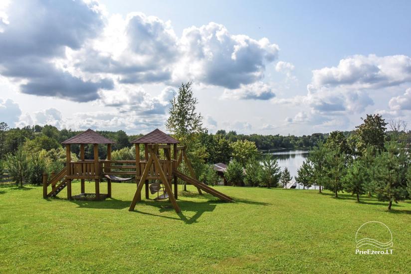 """Sodyba """"Kaštonas"""" vestuvėms, kitoms šventėms ir poilsiui Ukmergės raj. prie Kliepšių ežero - 45"""
