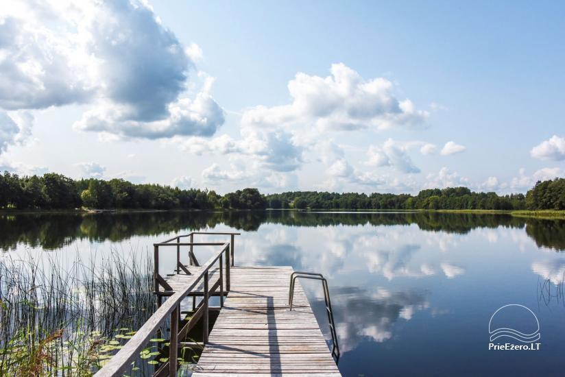 """Sodyba """"Kaštonas"""" vestuvėms, kitoms šventėms ir poilsiui Ukmergės raj. prie Kliepšių ežero - 48"""