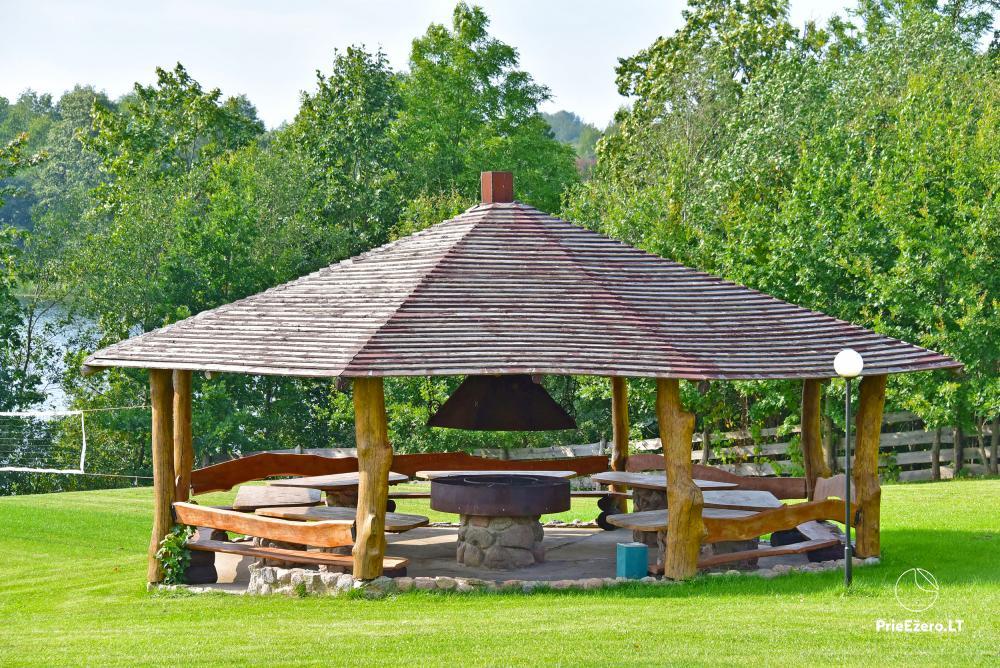 """Sodyba """"Kaštonas"""" vestuvėms, kitoms šventėms ir poilsiui Ukmergės raj. prie Kliepšių ežero - 5"""