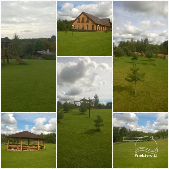 Sodyba Kaštonas Ukmergės rajone prie Kliepšiu ežero - 3