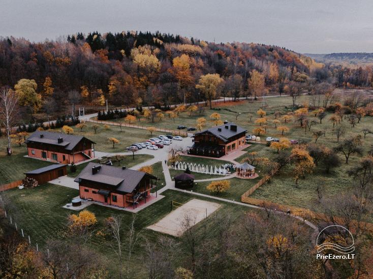 """Sodyba """"Kudrėnai"""": baseinas, pokylių salė, vestuvių, švenčių ruošimas - 1"""