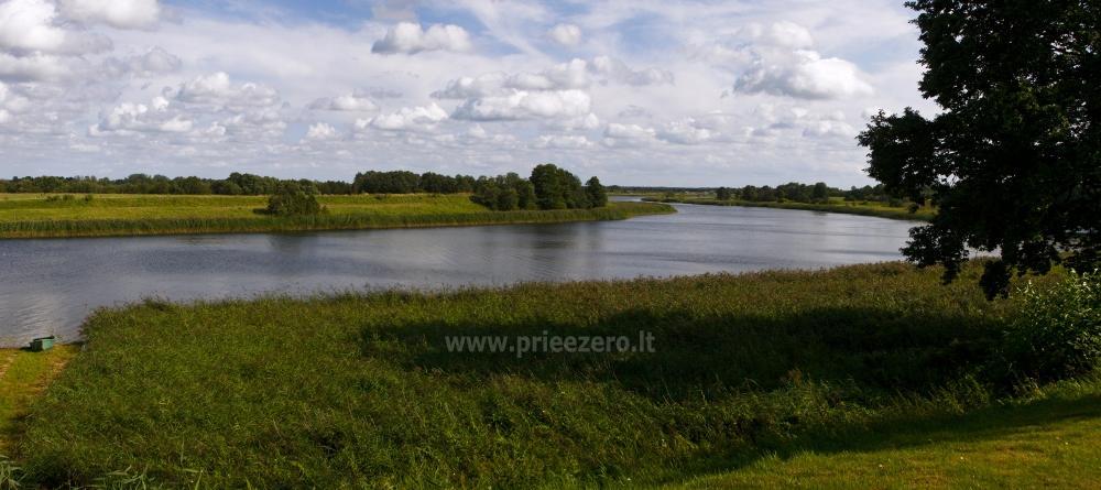 Svečių namai ir kempingas Latvijoje Leču muiža - 6