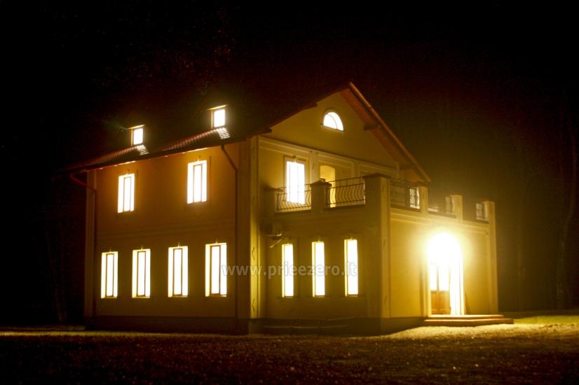 Svečių namai ir kempingas Latvijoje Leču muiža - 7