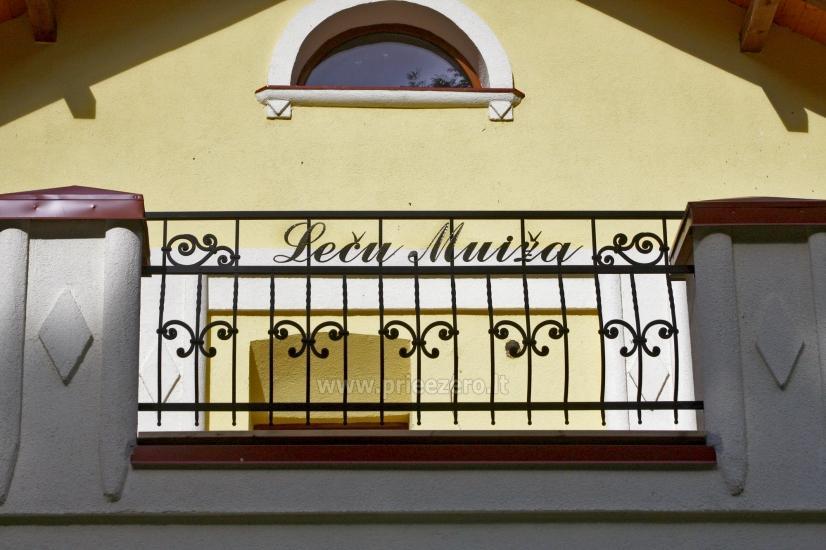 Svečių namai ir kempingas Latvijoje Leču muiža - 9