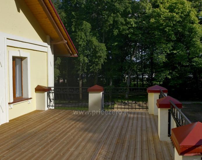 Svečių namai ir kempingas Latvijoje Leču muiža - 10
