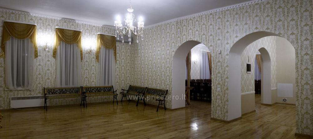 Svečių namai ir kempingas Latvijoje Leču muiža - 11