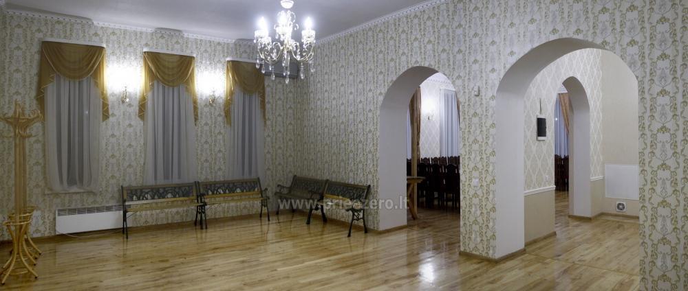 Svečių namai ir kempingas Latvijoje Leču muiža - 12