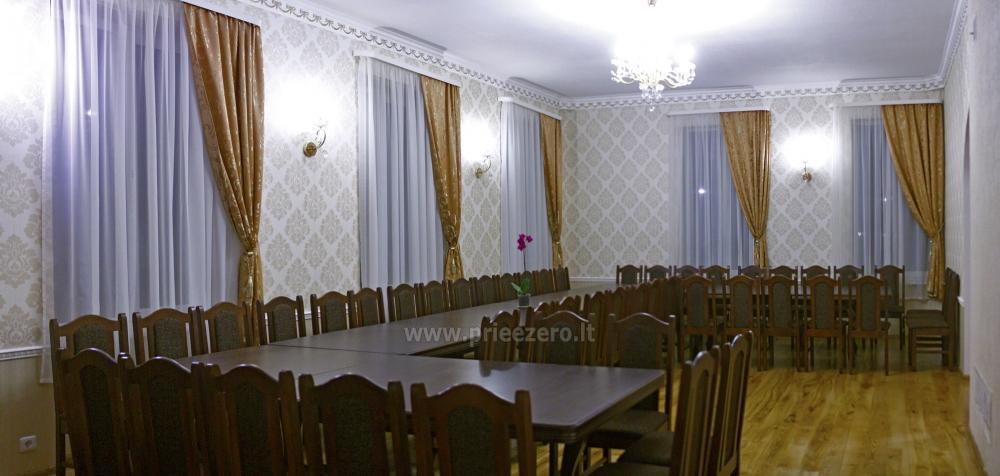 Svečių namai ir kempingas Latvijoje Leču muiža - 16