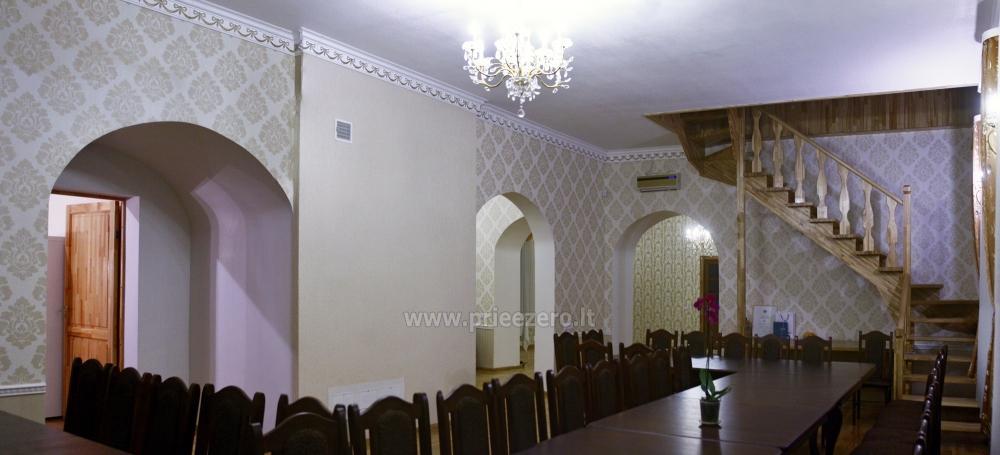 Svečių namai ir kempingas Latvijoje Leču muiža - 18