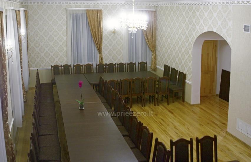 Svečių namai ir kempingas Latvijoje Leču muiža - 20