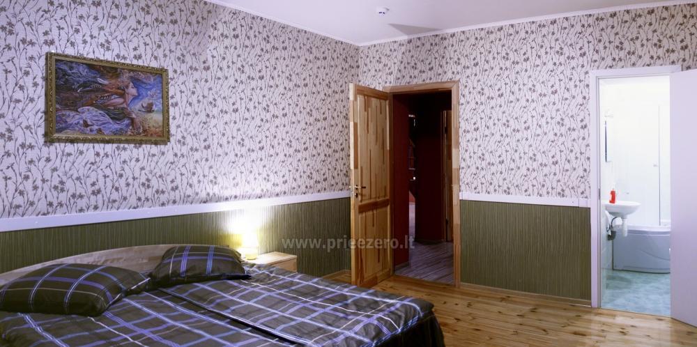 Svečių namai ir kempingas Latvijoje Leču muiža - 23