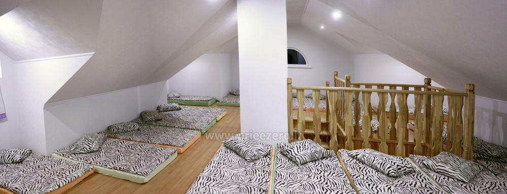 Svečių namai ir kempingas Latvijoje Leču muiža - 25