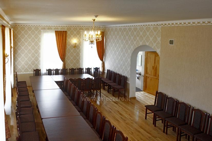 Svečių namai ir kempingas Latvijoje Leču muiža - 19