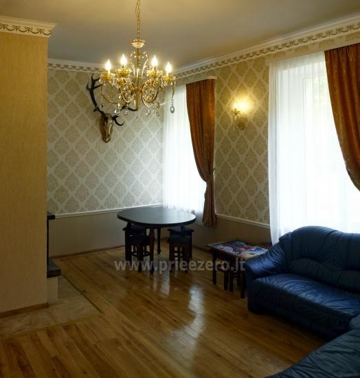 Svečių namai ir kempingas Latvijoje Leču muiža - 26
