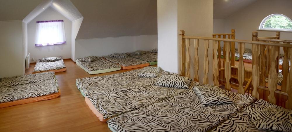 Svečių namai ir kempingas Latvijoje Leču muiža - 32