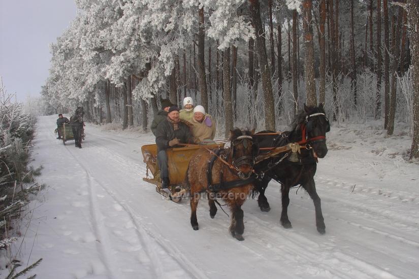 Pramogų ir poilsio centras Šilainė prie Seivio ežero Lenkijoje, Punsko sav. - 17