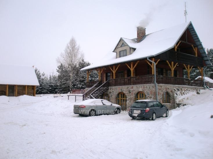 Pramogų ir poilsio centras Šilainė prie Seivio ežero Lenkijoje, Punsko sav. - 2