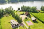 """Nameliai su pirties kompleksu ant ežero kranto, žaidimo aikštelės, žvejyba Ilgio vingis"""" - 5"""