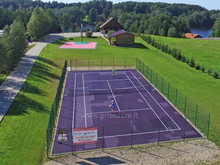 """Sodyba """"Ilgio Vingis"""" prie ežero: nameliai, salė, pirtis, teniso kortai, baidarės, krepšinis, tinklinis - 5"""
