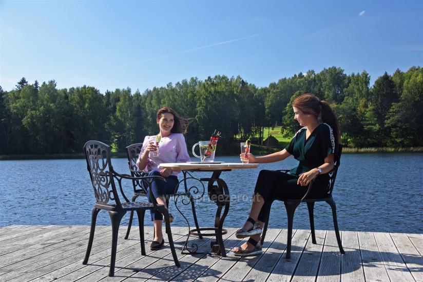 """Nameliai su pirties kompleksu ant ežero kranto, žaidimo aikštelės, žvejyba Ilgio vingis"""" - 10"""