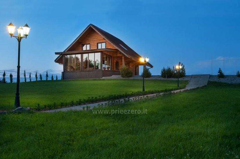 """Etno namas """"Vakaris"""" su 30 vietų sale ir 16 miegamų vietų"""