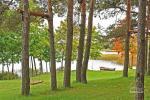 Jaukus namelis dviems su pirtele ant ežero kranto, sodyboje Pas Drambliuką - 10