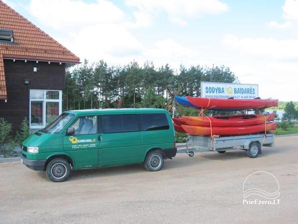 Jaukus namelis dviems su pirtele ant ežero kranto, sodyboje Pas Drambliuką - 14