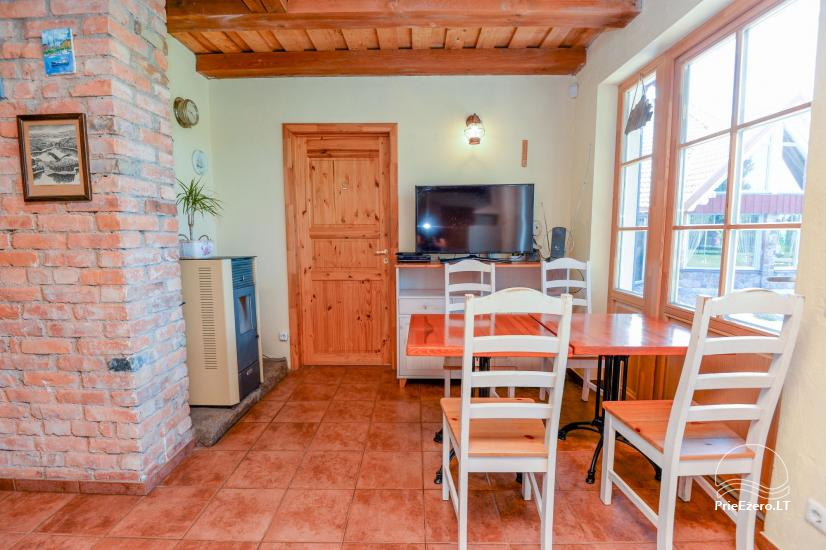 """Sodyba - svečių namai """"PAMARIO BURĖ"""" su restoranu, pirtimi - 18"""