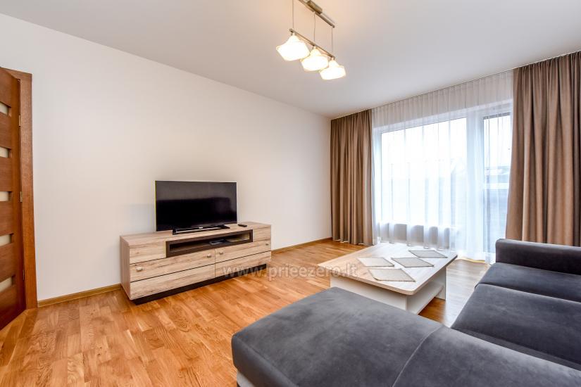 """67 kv.m. naujas dviejų kambarių butas """"Druskupio"""" Birštono centre: pirmas aukštas, terasa - 5"""