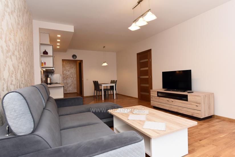 """67 kv.m. naujas dviejų kambarių butas """"Druskupio"""" Birštono centre: pirmas aukštas, terasa - 6"""