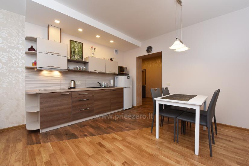 """67 kv.m. naujas dviejų kambarių butas """"Druskupio"""" Birštono centre: pirmas aukštas, terasa - 8"""