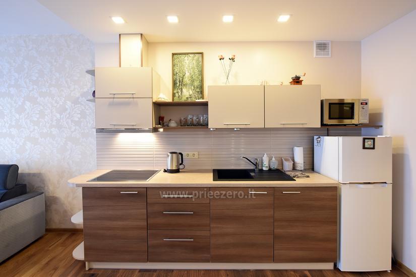 """67 kv.m. naujas dviejų kambarių butas """"Druskupio"""" Birštono centre: pirmas aukštas, terasa - 9"""