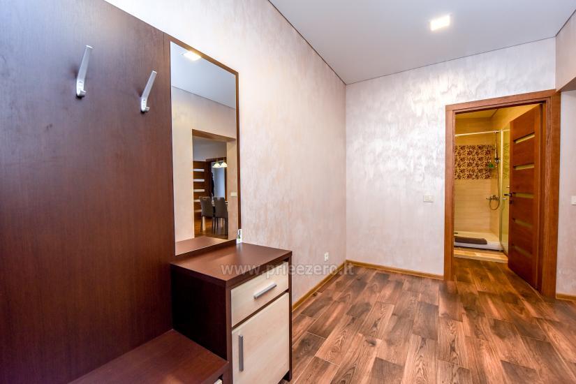 """67 kv.m. naujas dviejų kambarių butas """"Druskupio"""" Birštono centre: pirmas aukštas, terasa - 10"""