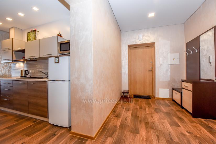 """67 kv.m. naujas dviejų kambarių butas """"Druskupio"""" Birštono centre: pirmas aukštas, terasa - 11"""