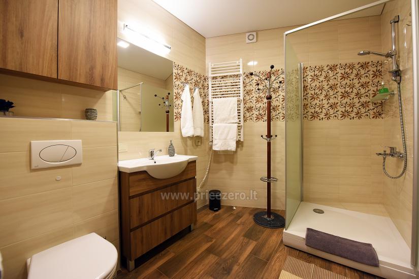 """67 kv.m. naujas dviejų kambarių butas """"Druskupio"""" Birštono centre: pirmas aukštas, terasa - 16"""