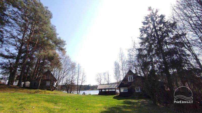 Sodyba Švenčionių rajone ant Sudotos ežero kranto Ribokynė - 1