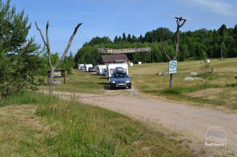 Sodyba su 5 ha įžuvintu tvenkiniu, Misgirių stovyklavietė su namukais poilsiui - 45