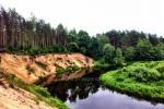 Stovyklavietė ir baidarės Šventosios upėje - 2