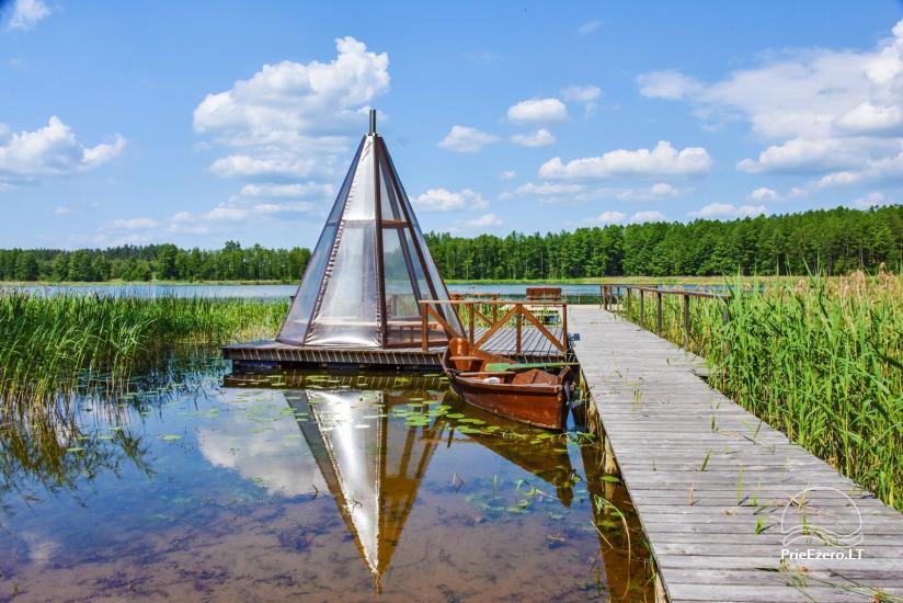 "Sodyba ant ežero kranto Ignalinos raj. ""Tundra"" - 11"