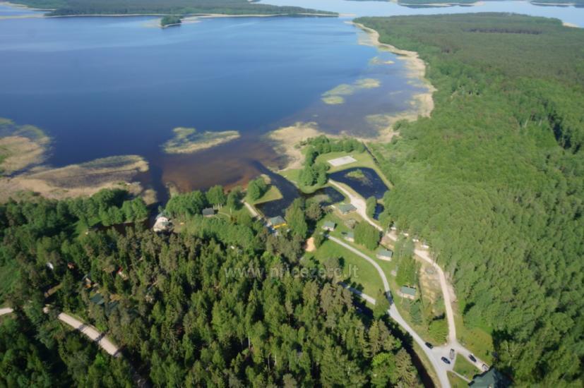 Kempingai prie Usma ežero Latvijoje - 1