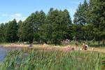 Kempingai prie Usma ežero Latvijoje - 4