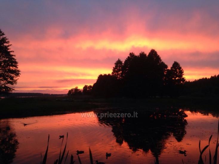 Kempingai prie Usma ežero Latvijoje - 5