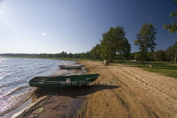 Kempingai prie Usma ežero Latvijoje - 9