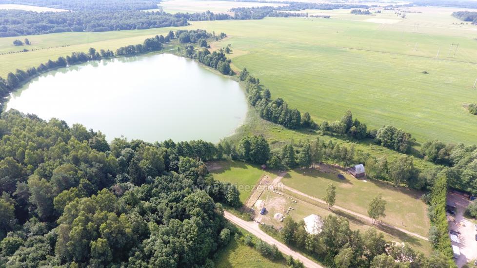 Namelių nuoma prie ežero netoli Šventosios (pirtis, žirgai bei kitos pramogos) - 18