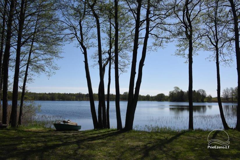 Namelių nuoma prie ežero netoli Šventosios (pirtis, žirgai bei kitos pramogos) - 19