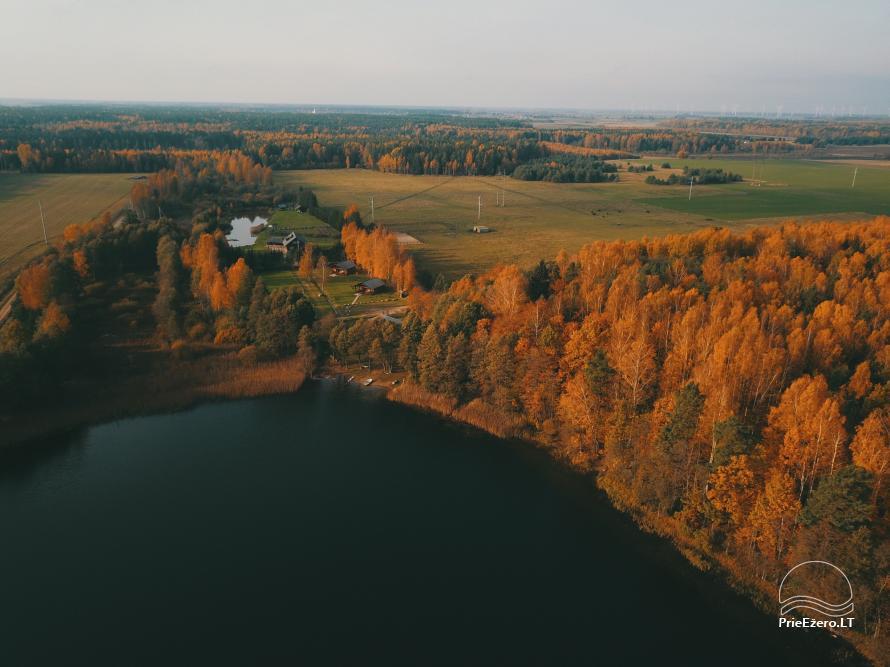 Namelių nuoma prie ežero netoli Šventosios (pirtis, žirgai bei kitos pramogos) - 33