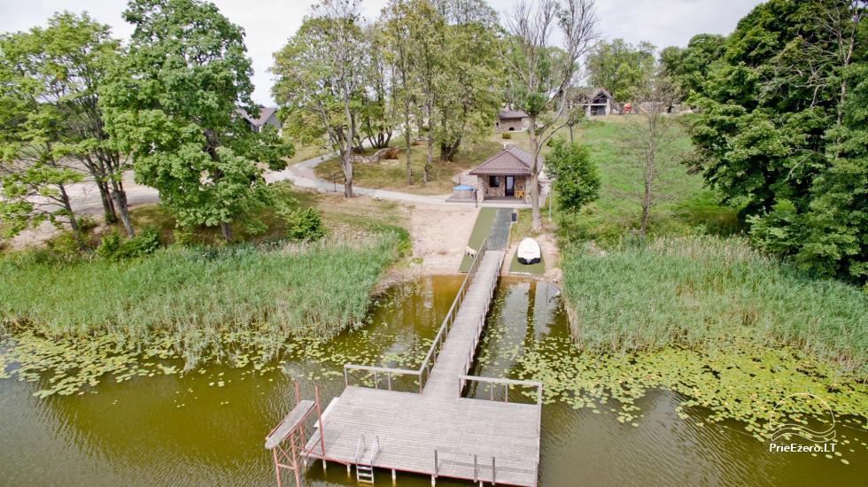 Sodyba Reketijos dvaras už Kalvarijos 14 km prie ežero - 5