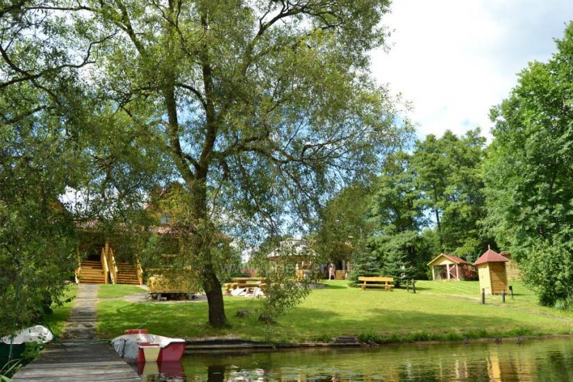 Vilnojos sodyba VIlniaus rajone ant ežero kranto su pirtimi, kubilu, džiakuzi - 4